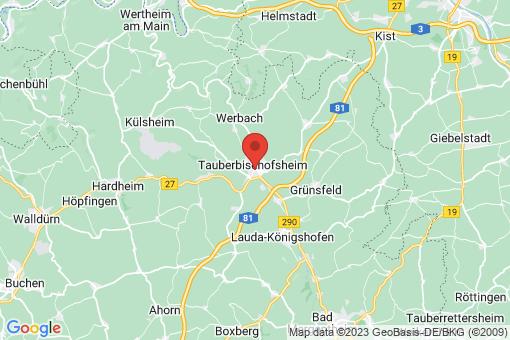 Karte Tauberbischofsheim