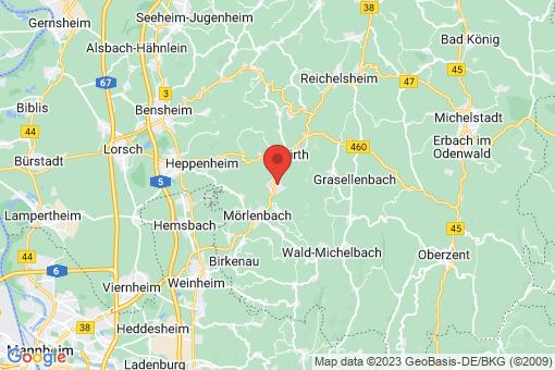 Karte Rimbach