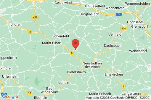Karte Baudenbach