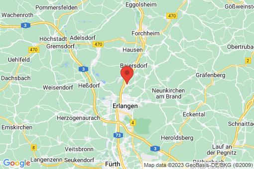 Karte Bubenreuth