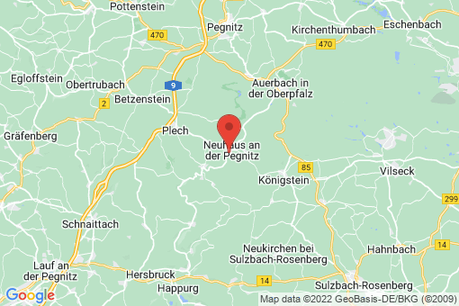 Karte Neuhaus an der Pegnitz