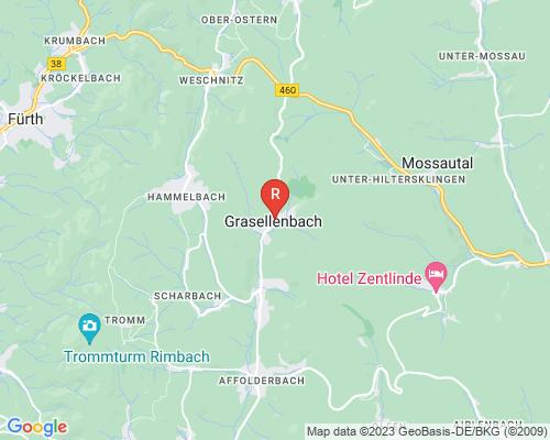 Google Karte von Rohrreinigung Grasellenbach