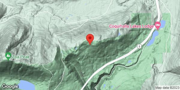 Coquihalla Lakes ridges West