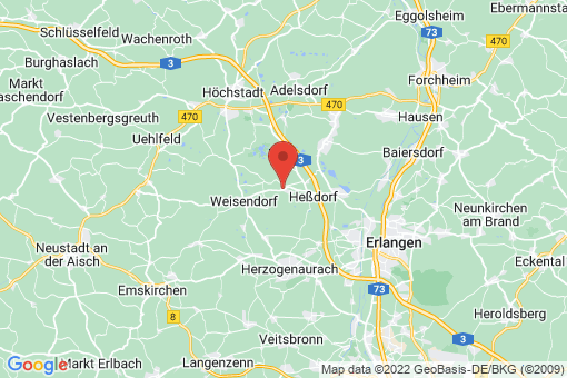 Karte Großenseebach