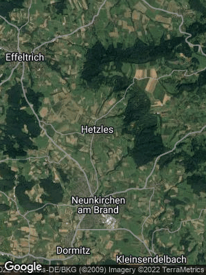 Google Map of Hetzles