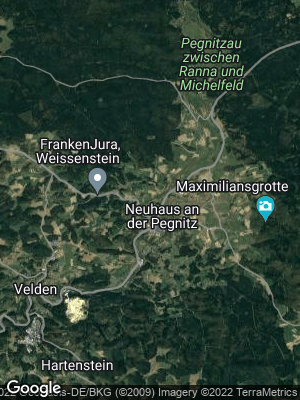 Google Map of Neuhaus an der Pegnitz