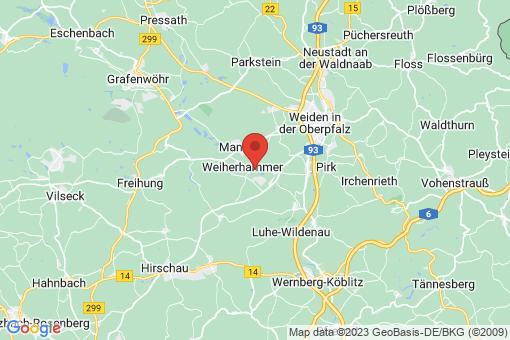 Karte Weiherhammer