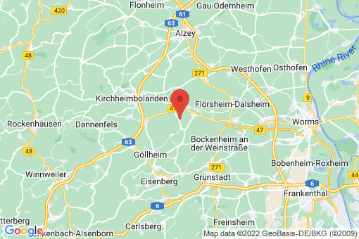 Karte Immesheim