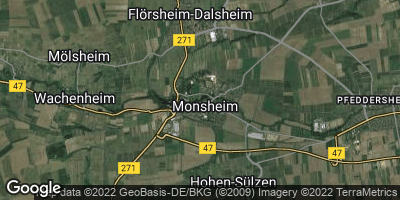 Google Map of Monsheim
