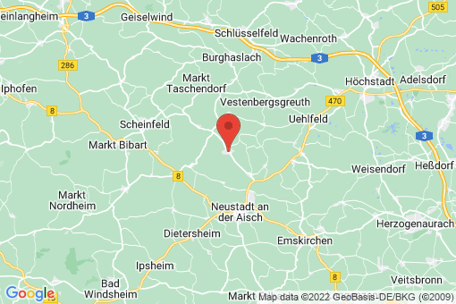 Karte Münchsteinach