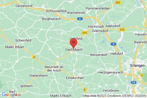 Karte Dachsbach
