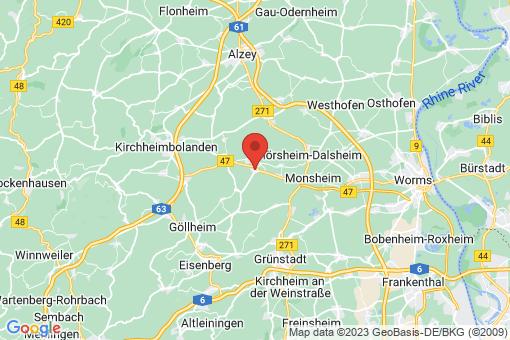 Karte Harxheim-Zellertal