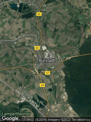 Google Map of Bürstadt