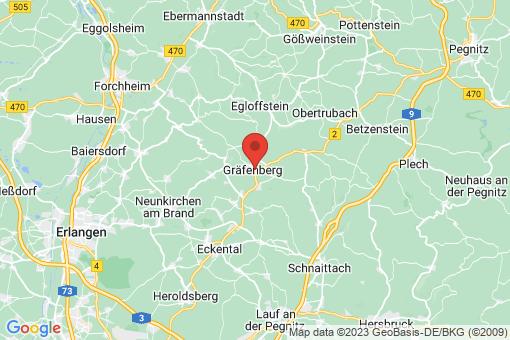 Karte Gräfenberg