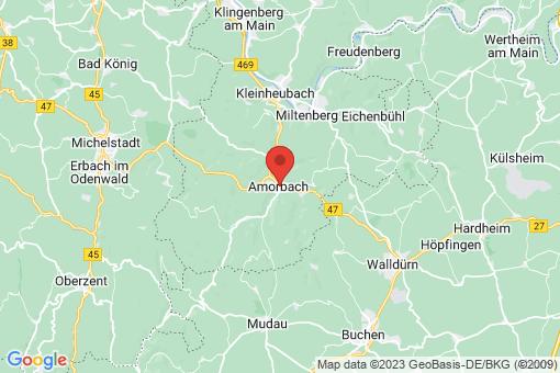 Karte Amorbach