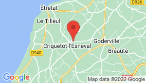 Carte de localisation du centre de contrôle technique CRIQUETOT L ESNEVAL