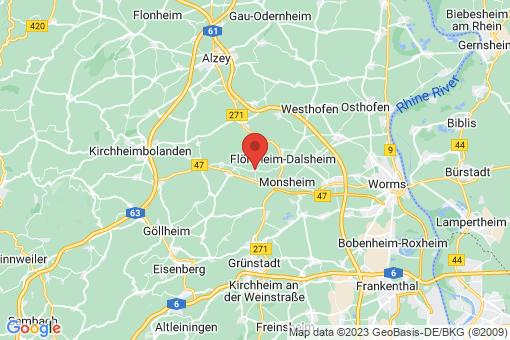 Karte Mölsheim