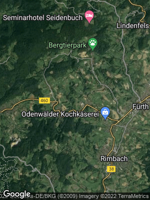 Google Map of Igelsbach