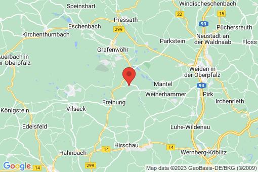 Karte Kaltenbrunn, Oberpfalz