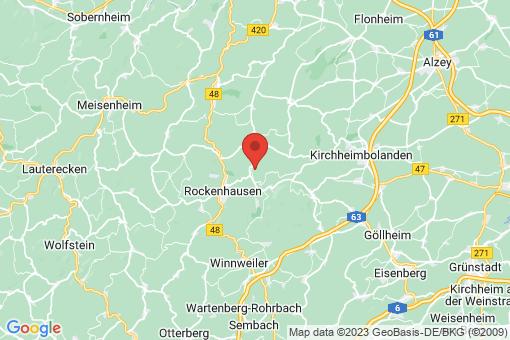 Karte Würzweiler