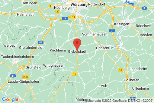 Karte Giebelstadt