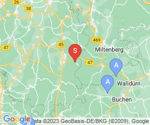Karte für AbenteuerWald Würzberg