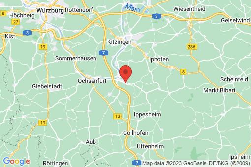 Karte Obernbreit