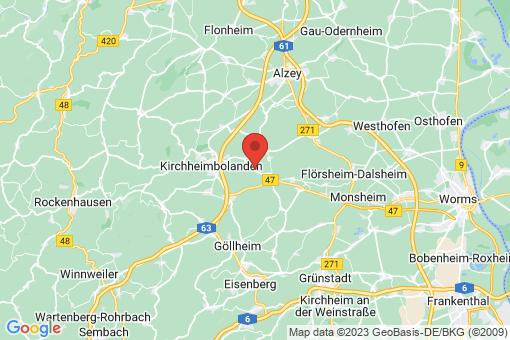 Karte Gauersheim