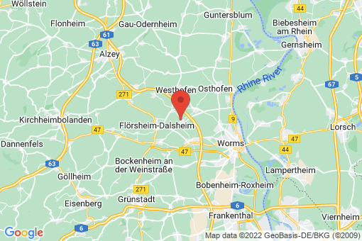 Karte Mörstadt