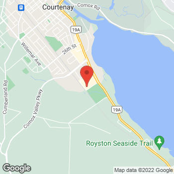 Map of Staples Print & Marketing Services at 3299 Cliffe Avenue, Courtenay, BC V9N 2L9