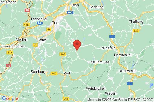 Karte Hinzenburg