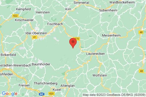 Karte Unterjeckenbach