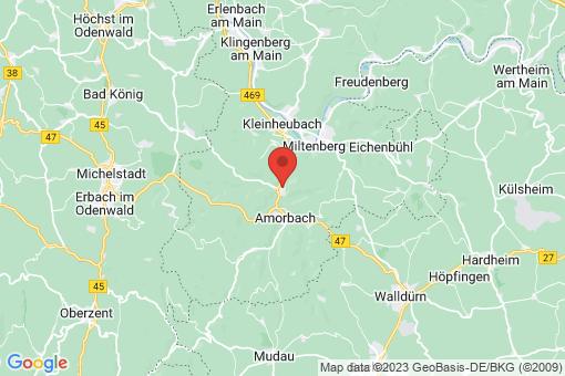 Karte Weilbach