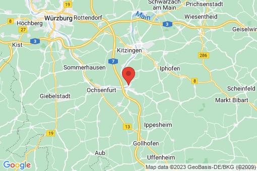 Karte Segnitz