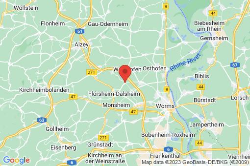 Karte Gundheim