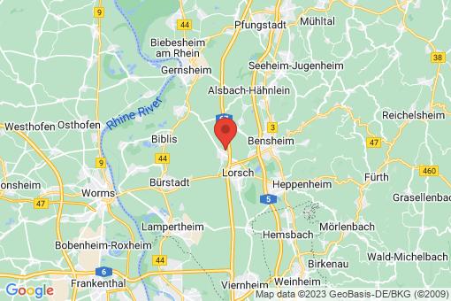 Karte Einhausen