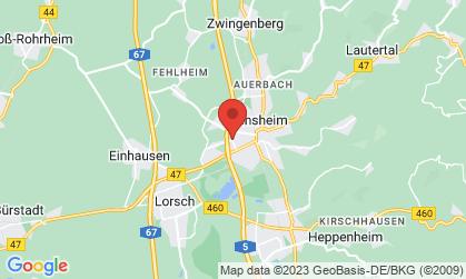 Arbeitsort: Bensheim