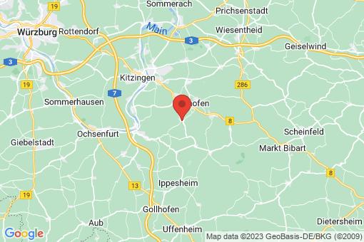 Karte Willanzheim