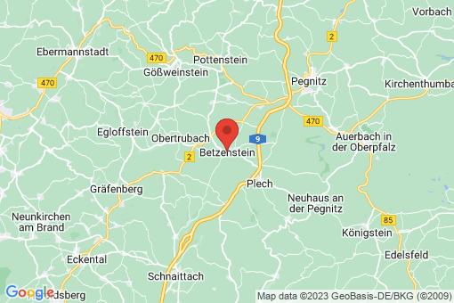 Karte Betzenstein
