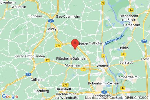 Karte Bermersheim