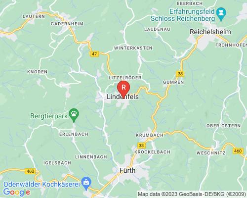 Google Karte von Rohrreinigung Lindenfels