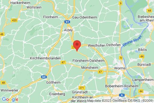 Karte Ober-Flörsheim