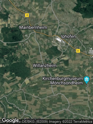 Google Map of Willanzheim