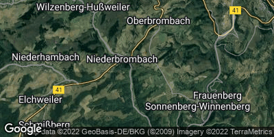 Google Map of Niederbrombach