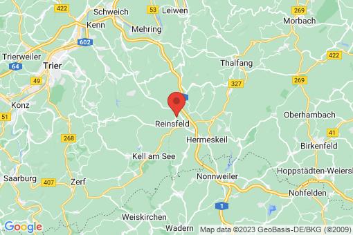 Karte Reinsfeld