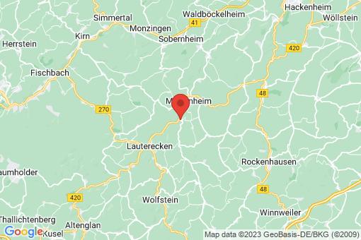 Karte Odenbach