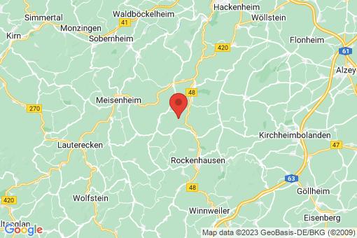 Karte Mannweiler-Cölln