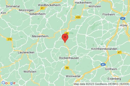 Karte Bayerfeld-Steckweiler