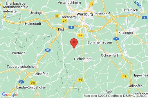 Karte Geroldshausen