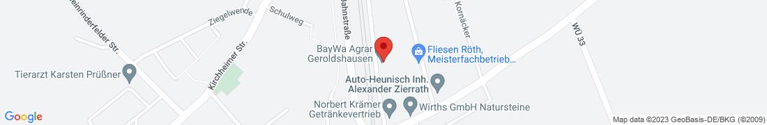 BayWa Agrar Geroldshausen Anfahrt